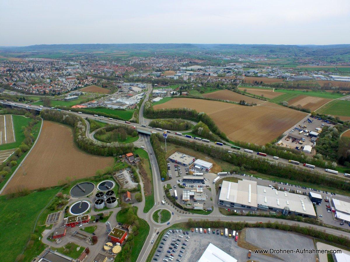 Luftaufnahmen für Würth in Öhringen