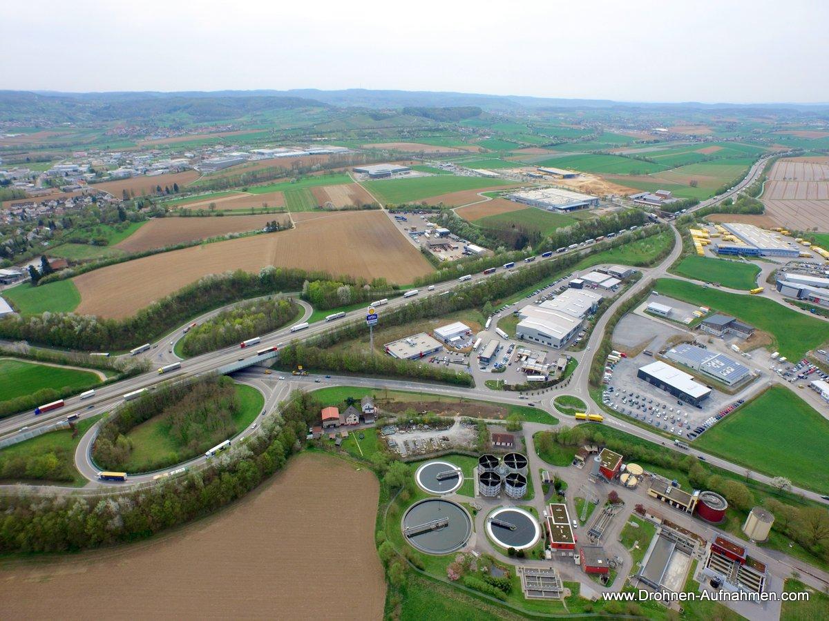 Luftbilder und Luftaufnahmen von Würth in Öhringen
